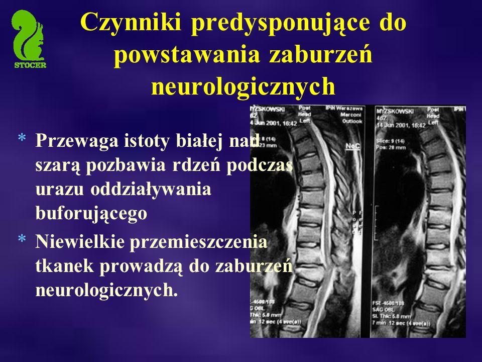 Czynniki predysponujące do powstawania zaburzeń neurologicznych