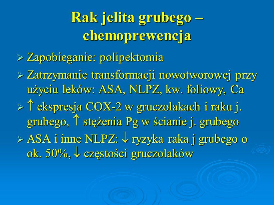 Rak jelita grubego – chemoprewencja