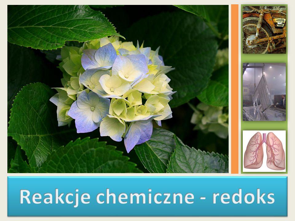 Reakcje chemiczne - redoks