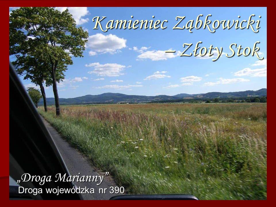 Kamieniec Ząbkowicki – Złoty Stok