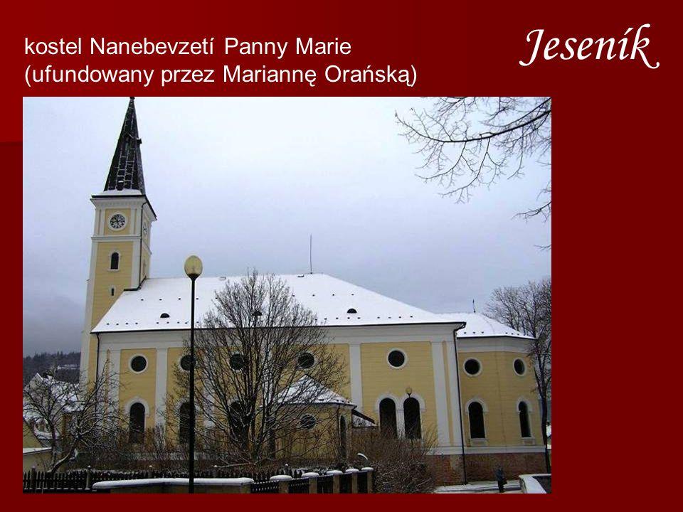 Jeseník kostel Nanebevzetí Panny Marie