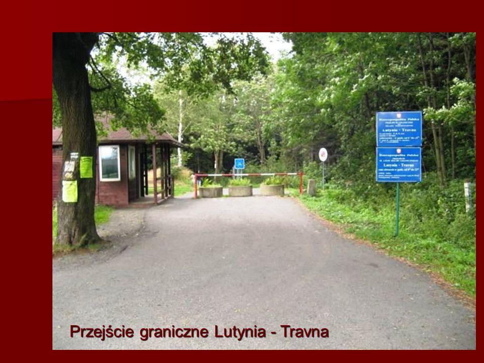 Przejście graniczne Lutynia - Travna