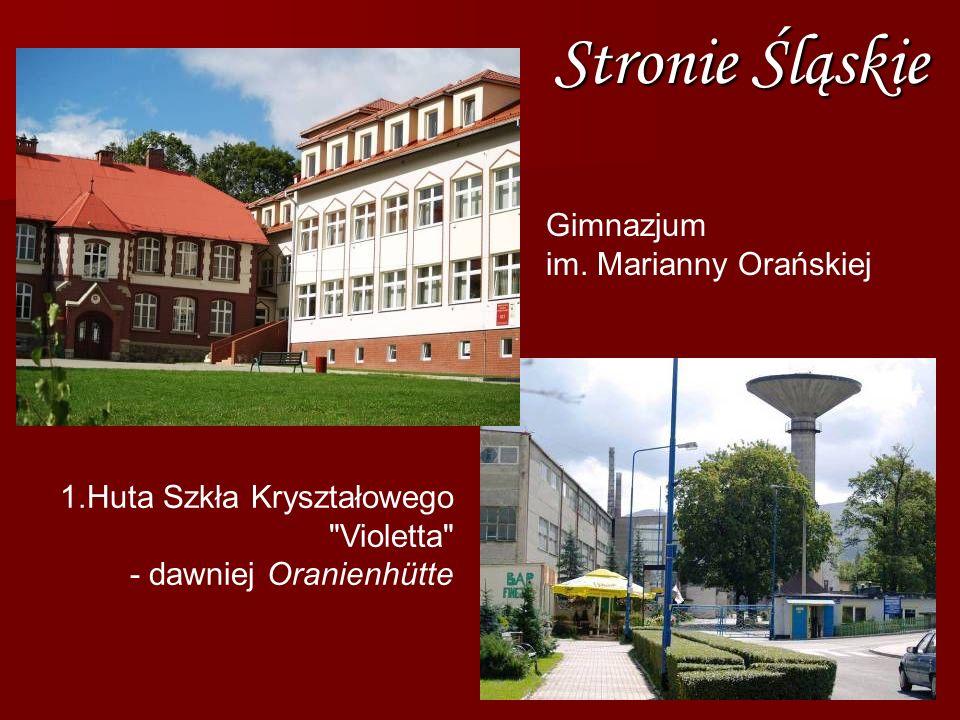 Stronie Śląskie Gimnazjum im. Marianny Orańskiej