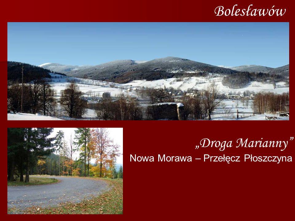 """Bolesławów """"Droga Marianny Nowa Morawa – Przełęcz Płoszczyna"""