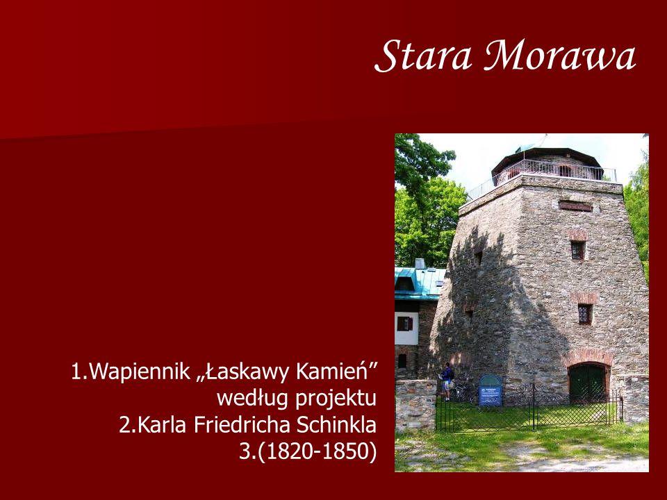 """Stara Morawa Wapiennik """"Łaskawy Kamień według projektu"""