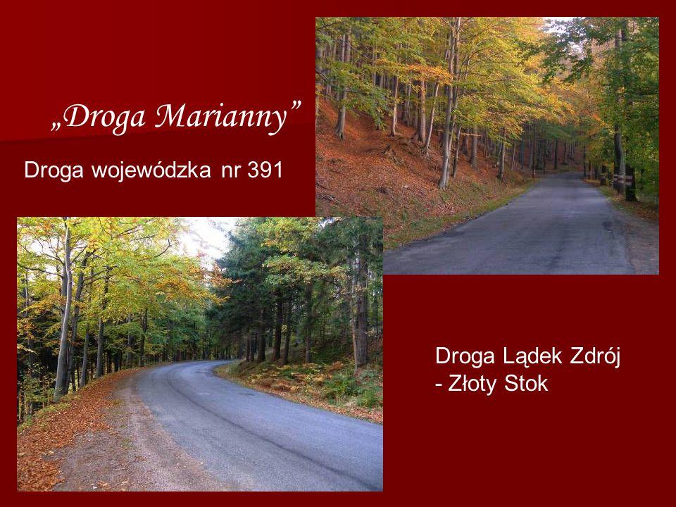 """Droga Marianny Droga wojewódzka nr 391 Droga Lądek Zdrój"
