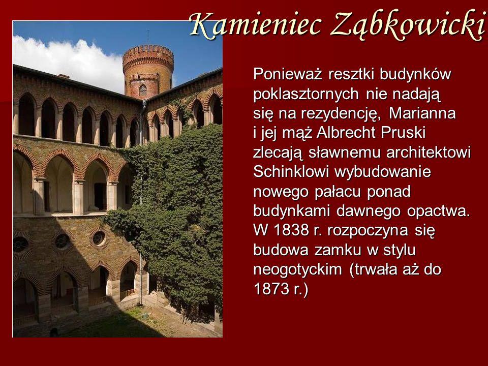 Kamieniec Ząbkowicki Ponieważ resztki budynków