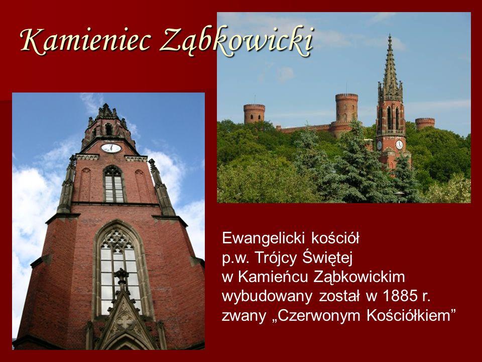 Kamieniec Ząbkowicki Ewangelicki kościół p.w.