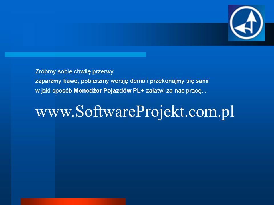 www.SoftwareProjekt.com.pl Zróbmy sobie chwilę przerwy