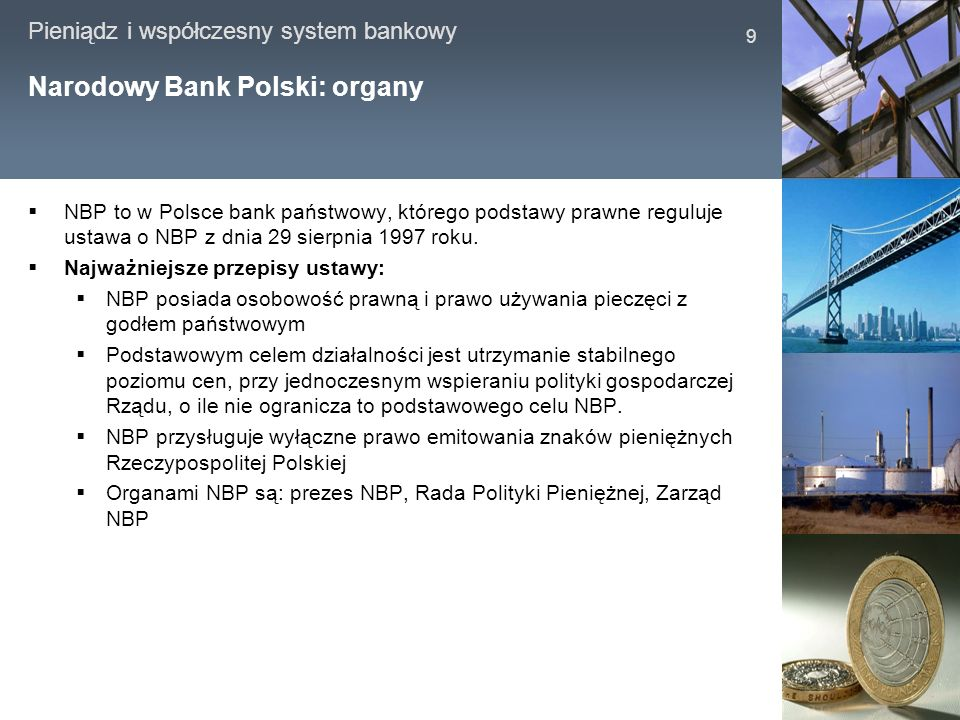 Narodowy Bank Polski: organy