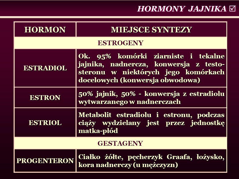 HORMON MIEJSCE SYNTEZY