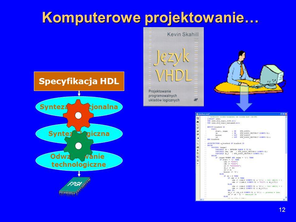 Komputerowe projektowanie…