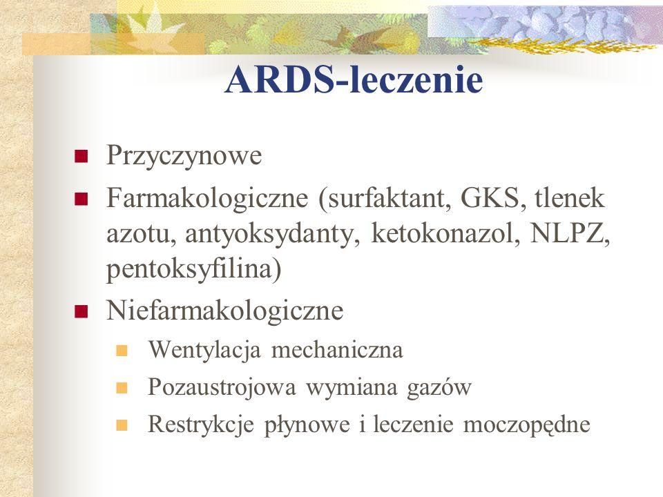 ARDS-leczenie Przyczynowe