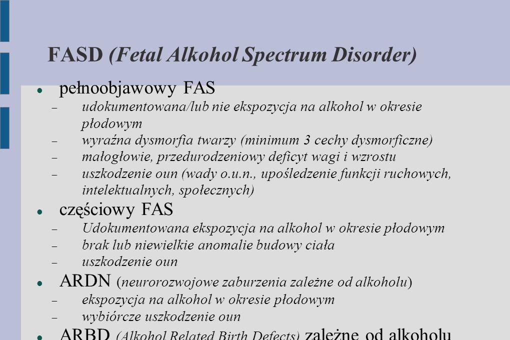FASD (Fetal Alkohol Spectrum Disorder)