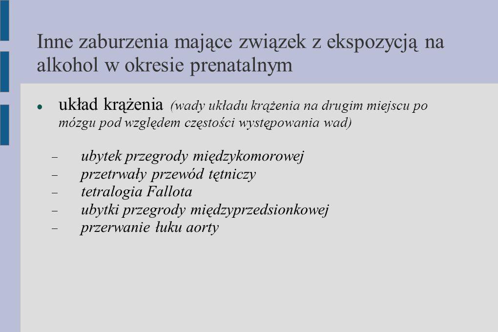 Inne zaburzenia mające związek z ekspozycją na alkohol w okresie prenatalnym