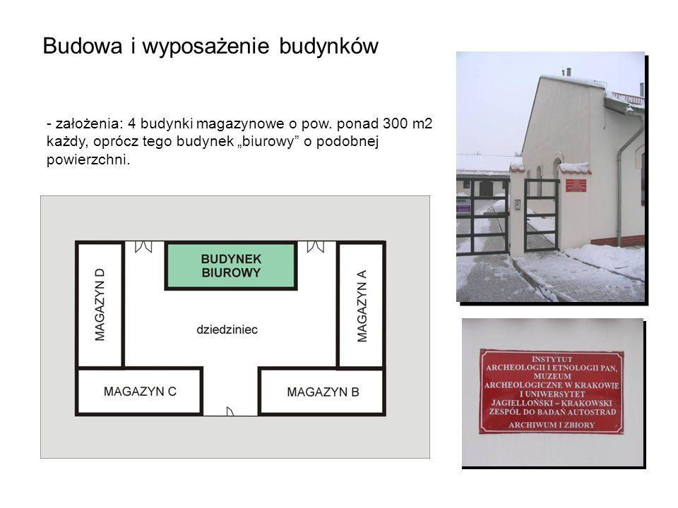 Budowa i wyposażenie budynków