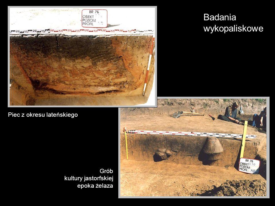 Badania wykopaliskowe Piec z okresu lateńskiego Grób