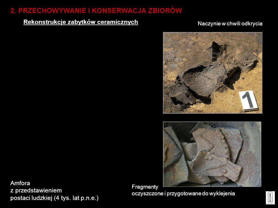 Amfora z przedstawieniem postaci ludzkiej (4 tys. lat p.n.e.)