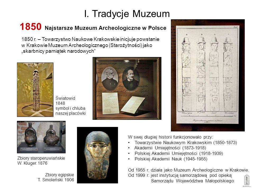 1850 Najstarsze Muzeum Archeologiczne w Polsce