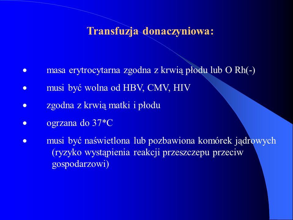 Transfuzja donaczyniowa: