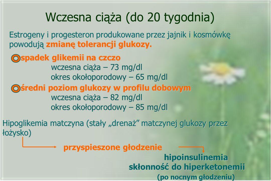 Wczesna ciąża (do 20 tygodnia)