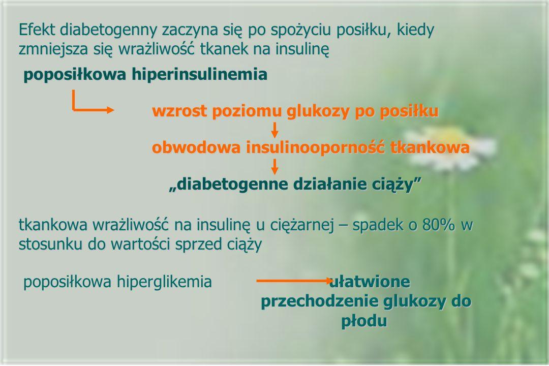 poposiłkowa hiperinsulinemia