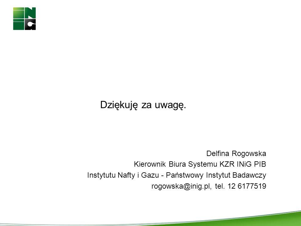 Dziękuję za uwagę. Delfina Rogowska