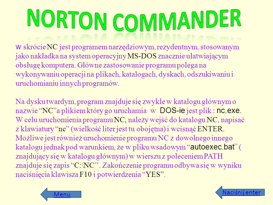 Norton Commander