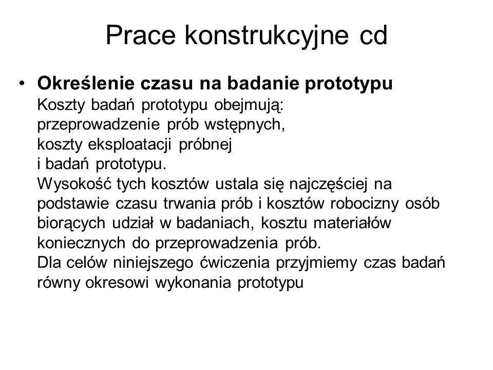 Prace konstrukcyjne cd