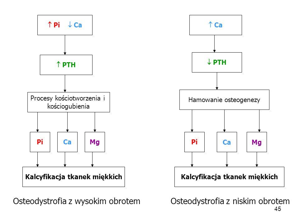 Kalcyfikacja tkanek miękkich Kalcyfikacja tkanek miękkich