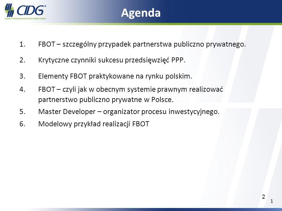 Agenda FBOT – szczególny przypadek partnerstwa publiczno prywatnego.