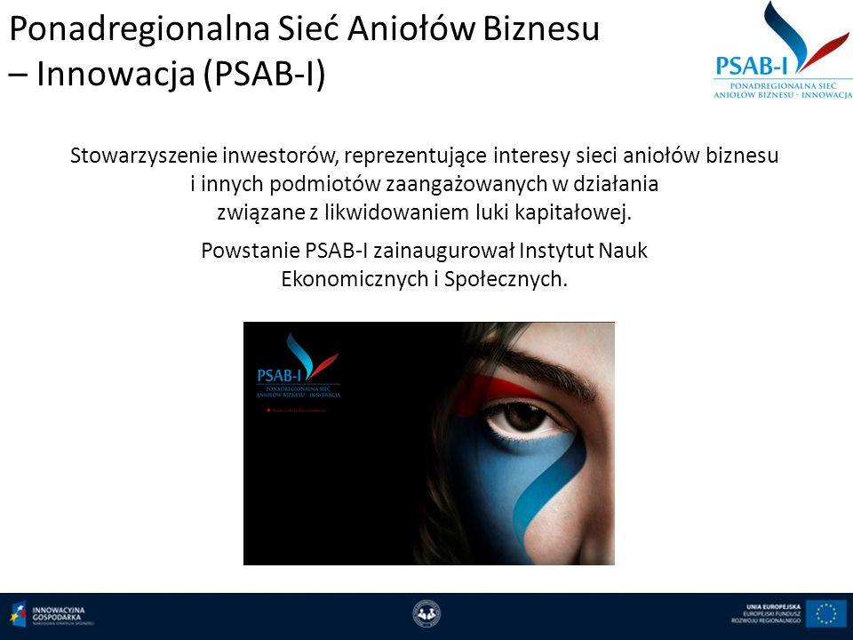 Ponadregionalna Sieć Aniołów Biznesu – Innowacja (PSAB-I)
