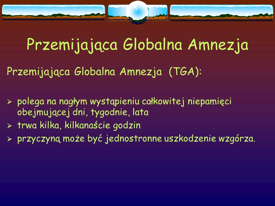 Przemijająca Globalna Amnezja