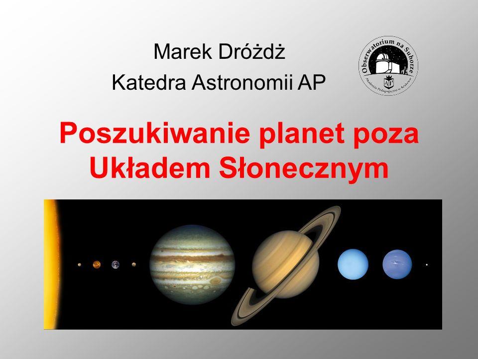 Poszukiwanie planet poza Układem Słonecznym