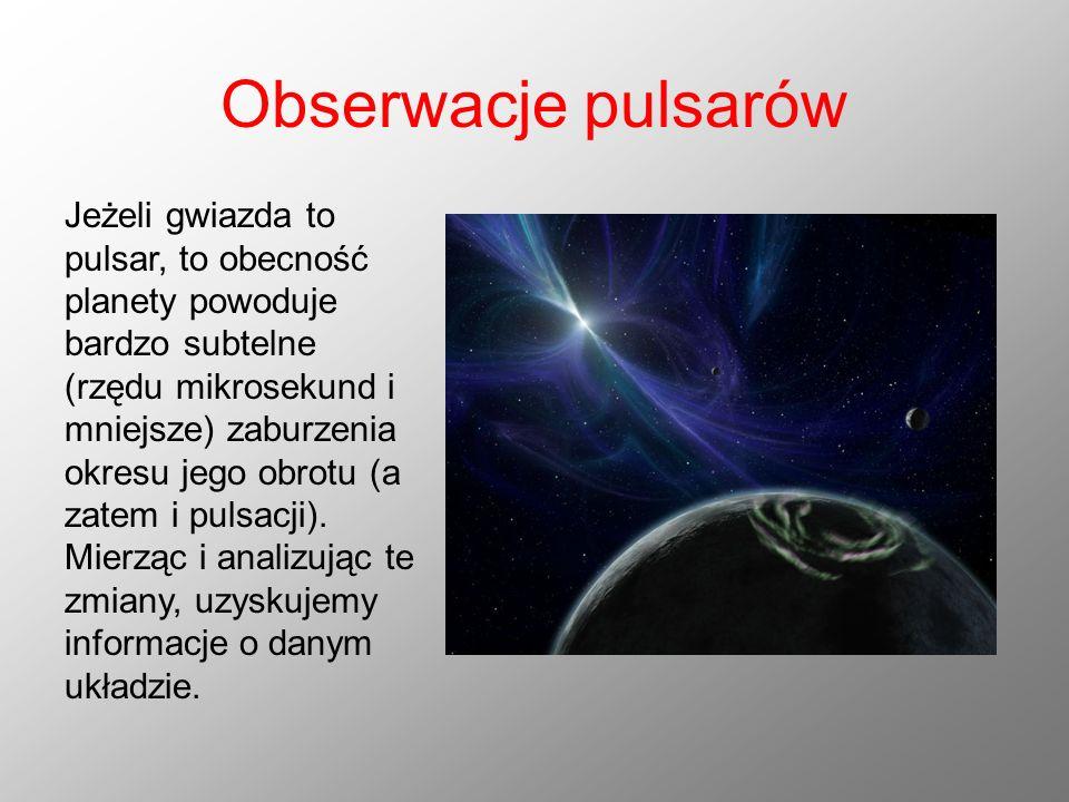 Obserwacje pulsarów