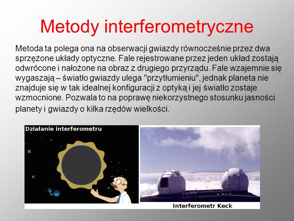 Metody interferometryczne