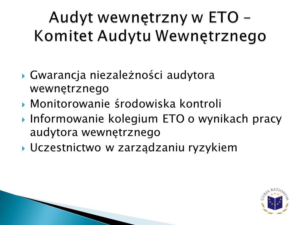 Audyt wewnętrzny w ETO – Komitet Audytu Wewnętrznego