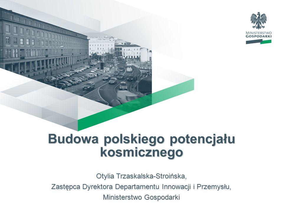 Budowa polskiego potencjału kosmicznego