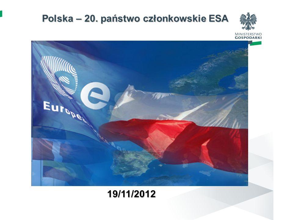 Polska – 20. państwo członkowskie ESA