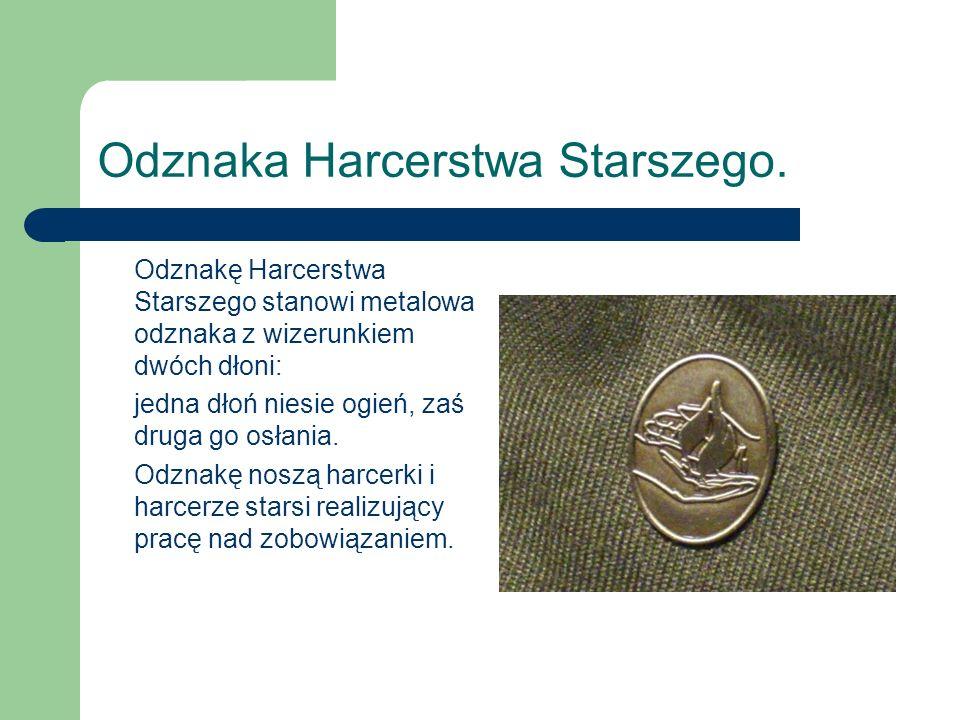 Odznaka Harcerstwa Starszego.
