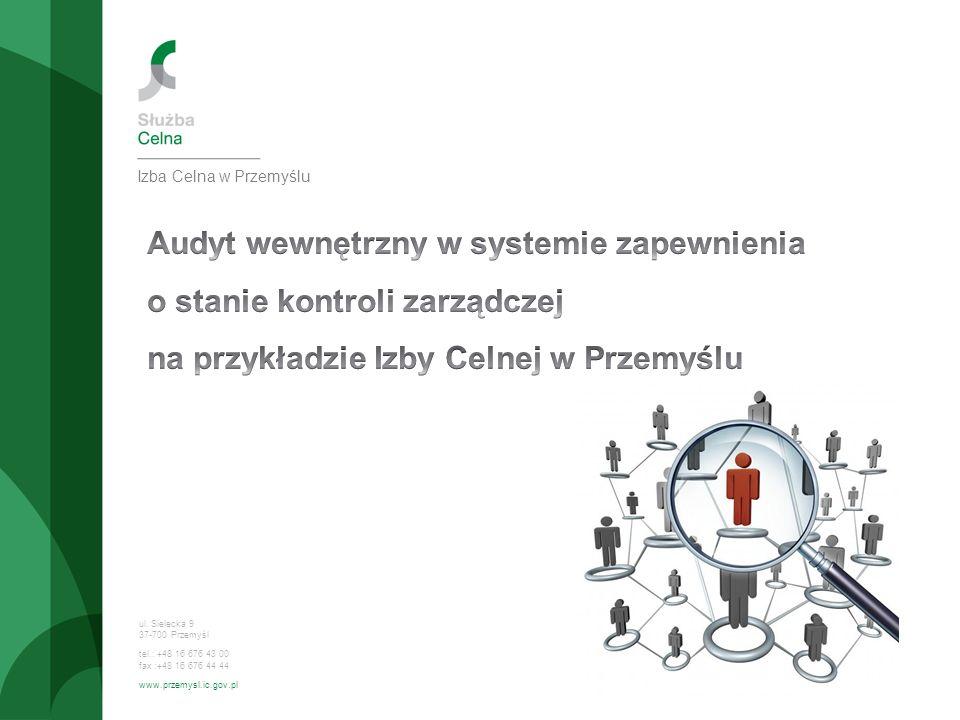 Audyt wewnętrzny w systemie zapewnienia o stanie kontroli zarządczej