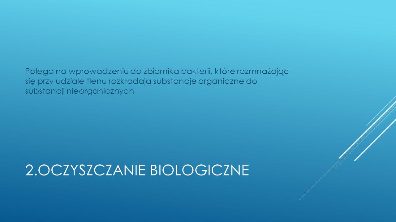 2.Oczyszczanie biologiczne