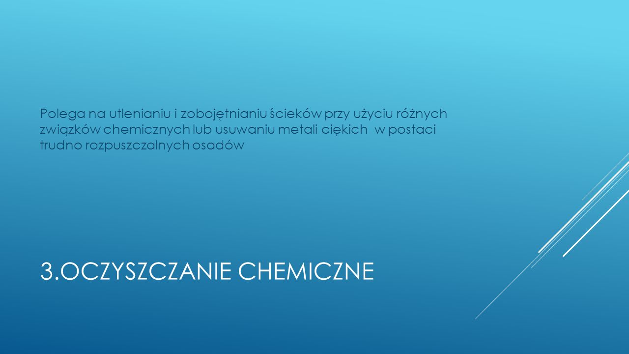 3.Oczyszczanie chemiczne