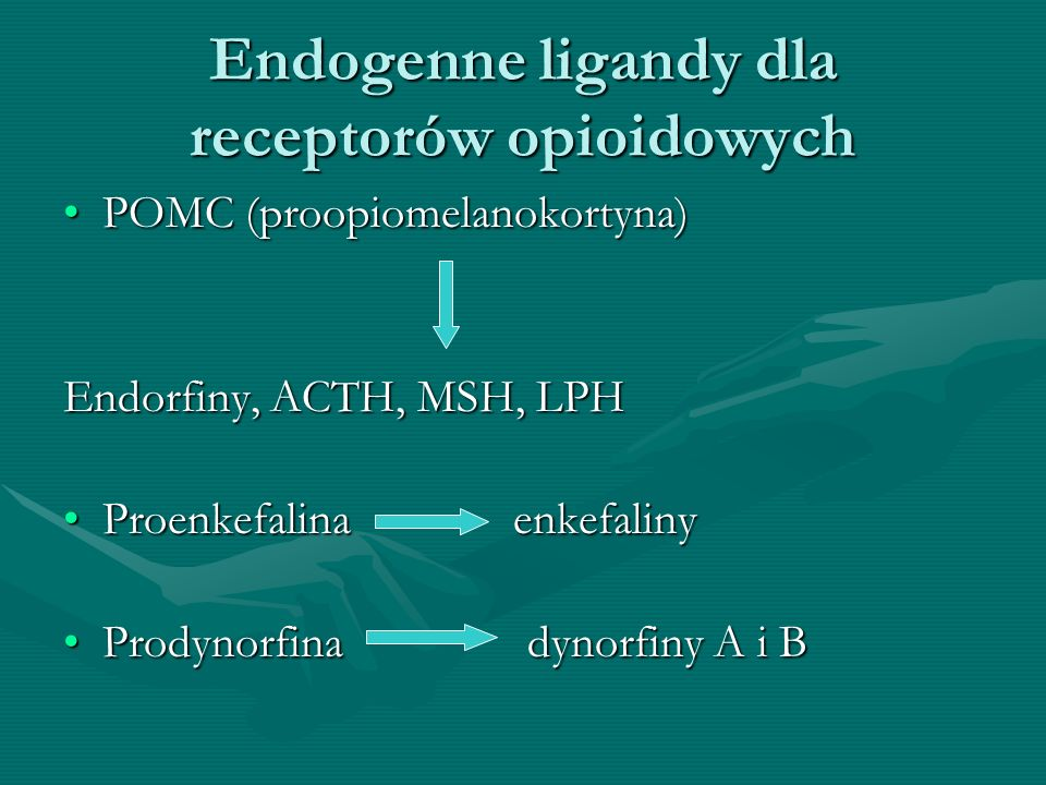 Endogenne ligandy dla receptorów opioidowych