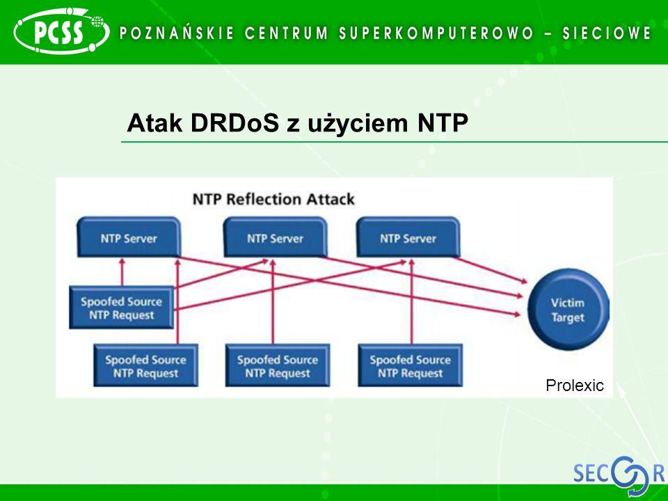 Atak DRDoS z użyciem NTP
