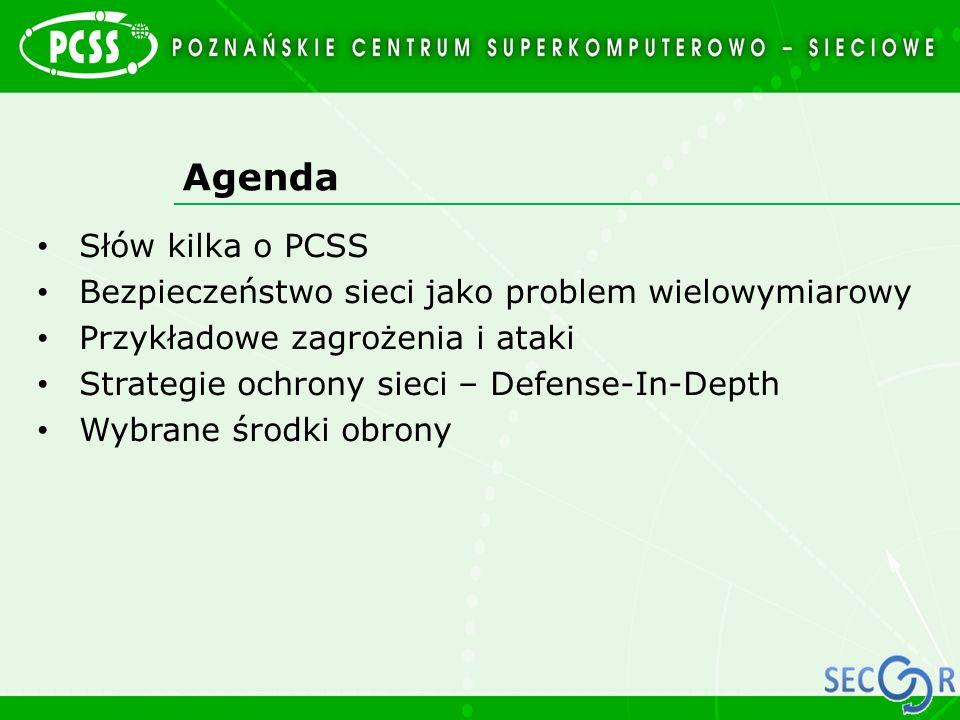 Agenda Słów kilka o PCSS
