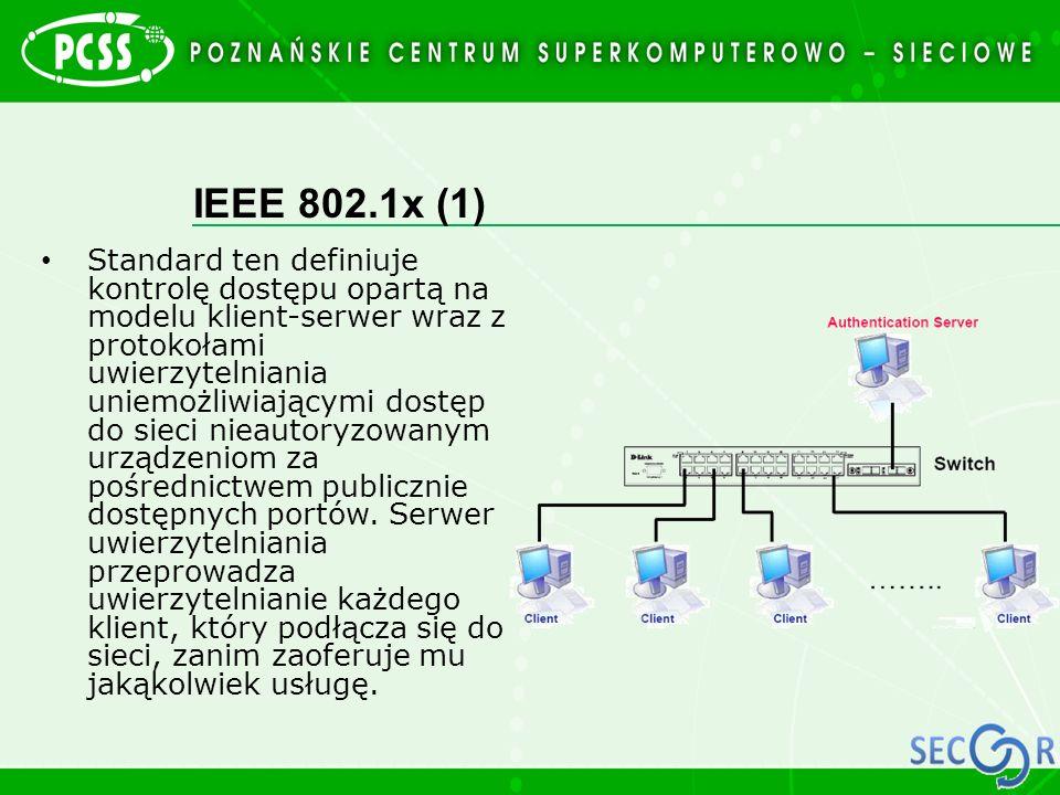 IEEE 802.1x (1)