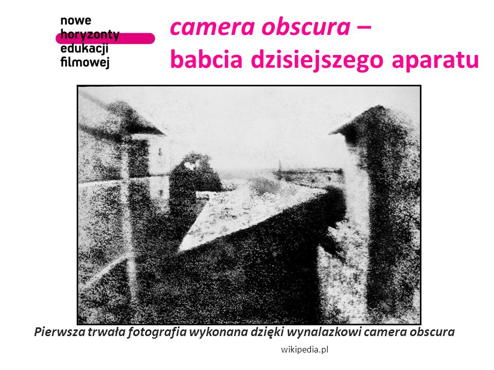 camera obscura – babcia dzisiejszego aparatu