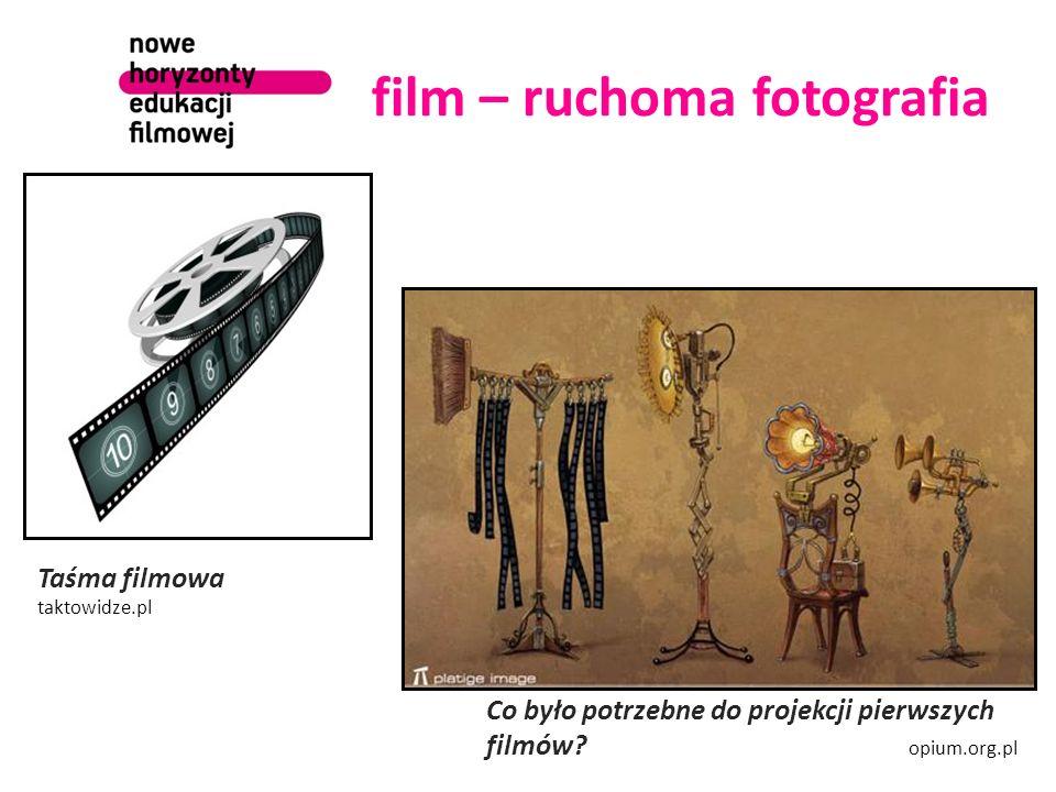 film – ruchoma fotografia