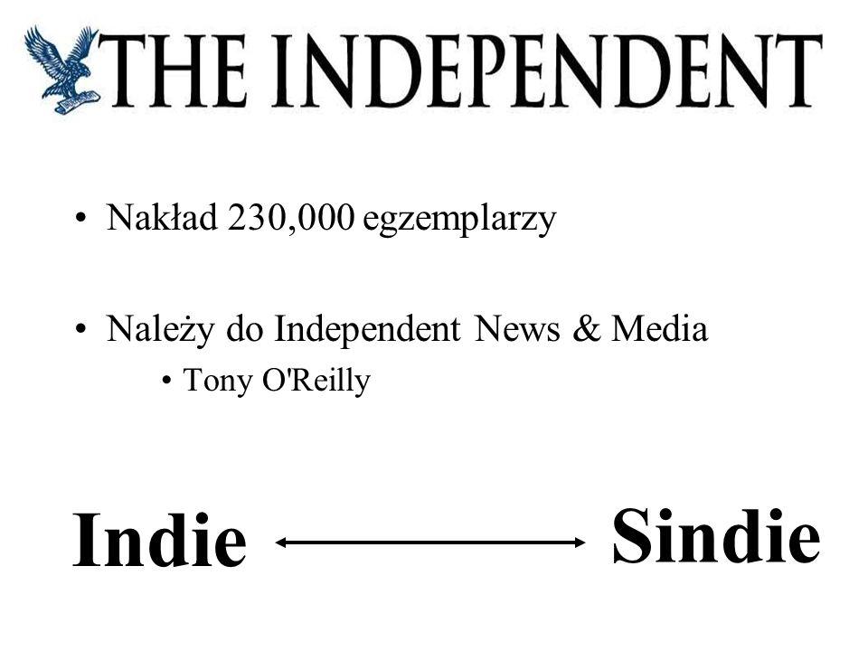 Sindie Indie Nakład 230,000 egzemplarzy